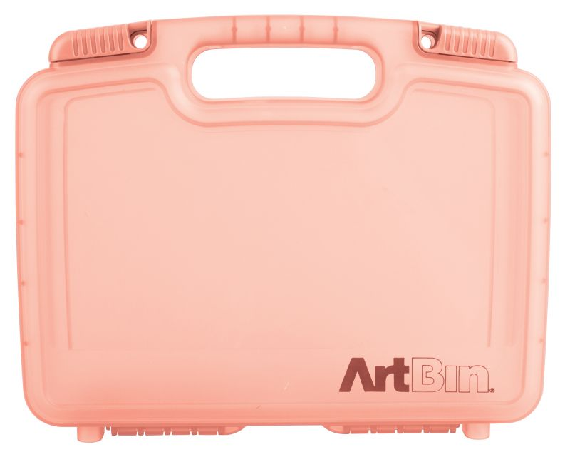 "12 inch Quick View Carrying Case-Deep Base - Coral, 6977AG quick view case, quickview, carry case, box, satchel,deep base, 12"", 12 inch, coral, 6977AG"