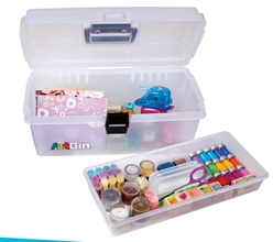 "16"" Lift-Out Tray Box, 6966AB 16"" Tray Box w/ Lift Out Tray, 6966AB, kids art and craft supply box, back to school, childres box, art box, tackle box, craft box"