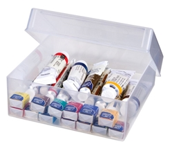 "ClearView™ Case (5"" x 5"" box), 6952AB clearview, clear view, case, cases, clearview case, 5"" x 5"", square, case, box, container, acid free, 6952AB, clearview case"