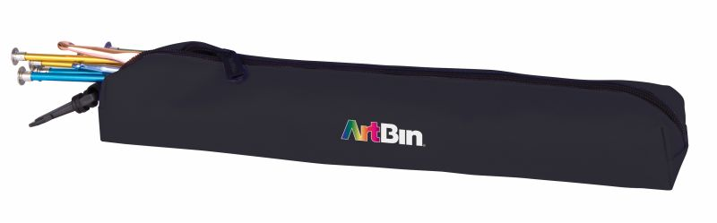 Needle Arts Accessory Pouch, 6803SA Knitting, crochet, needles, acessiories, needle arts, pouch, case, black, artbin, fabric, 6803SA, accessory pouch, needle arts pouch, needle, hook, bag, clip on, artbin, black,