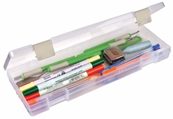 Solutions™ XL (extra long) - 1 Compartment Box, 3901AB solutions boxes, open core, pencil box, pen box, 3901AB, plastic, container, 1 compartment, artbin, storage ,