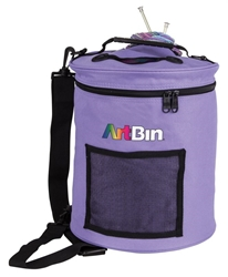 Yarn Drum, Knitting And Crochet Tote Bag - Periwinkle, 6807SA