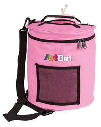 Yarn Drum, Knitting And Crochet Tote Bag - Pink, 6806SA 6806SA, artbin, yarn drum, yarn storage, knitting, crochet, yarn bag, storage, tote,  pink,