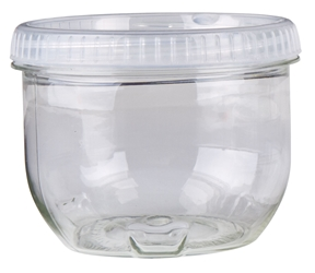 Zerust Anti-Tarnish Twisterz Jar™ -Large/Tall, 6946AT twisters jar, twisterz jar, anti tarnish, zerust, interlocking, containers, silver, gold, jewelry, 6946AT