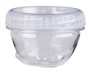 Zerust Anti-Tarnish Twisterz™ Jar -Small/Short, 6947AT twisters jar, twisterz jar, anti tarnish, zerust, interlocking, containers, silver, gold, jewelry, 6947AT