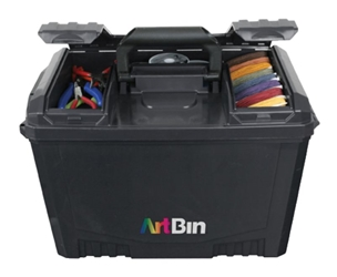 Sidekick™ XL, 6917AB art box, lift out tray box, sidekick, side kick, 6917AB, ammo can, container, craft supply, art supply, lift out tray, lockable, artbin