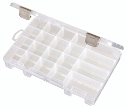 Solutions™ Box, Medium 4 Compartment, 4004AB small supply storage, solutions, solutions box, clear boxes, solutions, solutions box, solutions boxes, solutions storage, storage solutions, storage, divided boxes, dividers, 4004AB, artbin, container, storage, plastic, medium, 4 compartment, removable dividers
