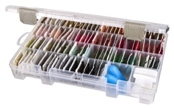 Solutions™ Box, Medium  4 Compartment, 4006AB solutions , solutions box, small supply storage, clear boxes,solutions, solutions box, solutions boxes, solutions storage, storage solutions, storage, divided boxes, dividers, 4006AB, artbin, container, storage, plastic, medium, 4 compartment, removable dividers