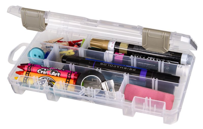 Solutions™ Box Small, 3003AB small supply storage, solutions, solutions box, clear boxes, solutions, solutions box, solutions boxes, solutions storage, storage solutions, storage, divided boxes, dividers, solutions small box, divided container, pens, pencils, markers, 3003AB