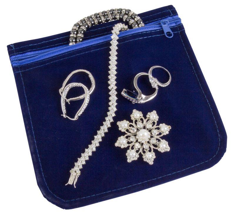 Anti Tarnish Jewelry Bag   6 X 6, 6835AG