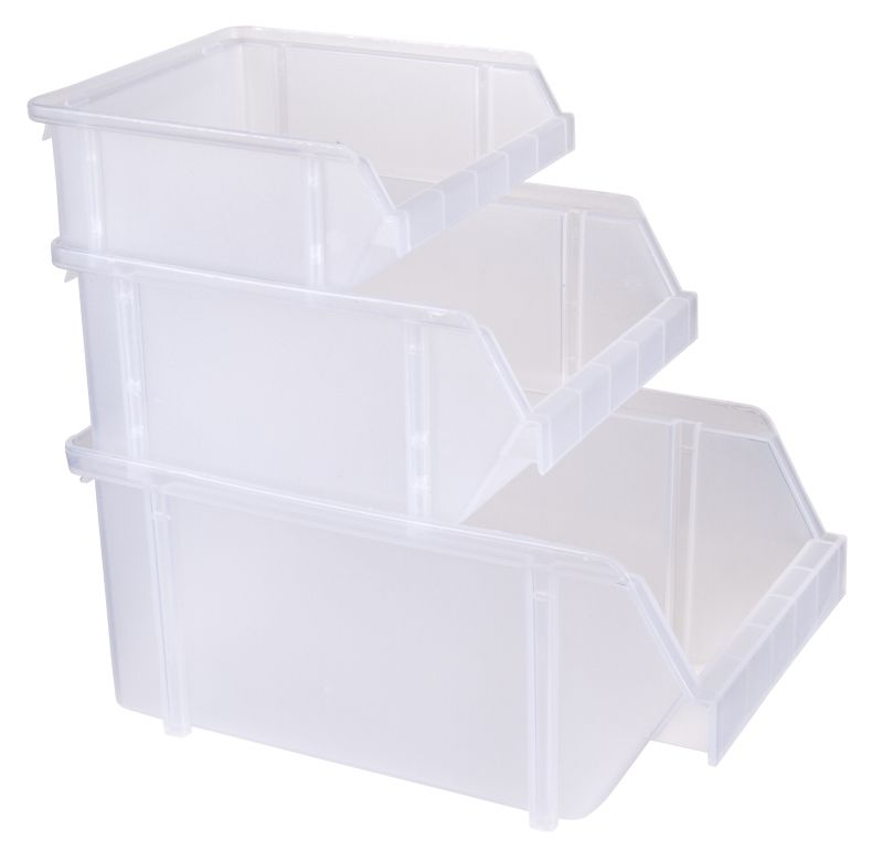 stacking bins 3 pack 6863ag 6863ag