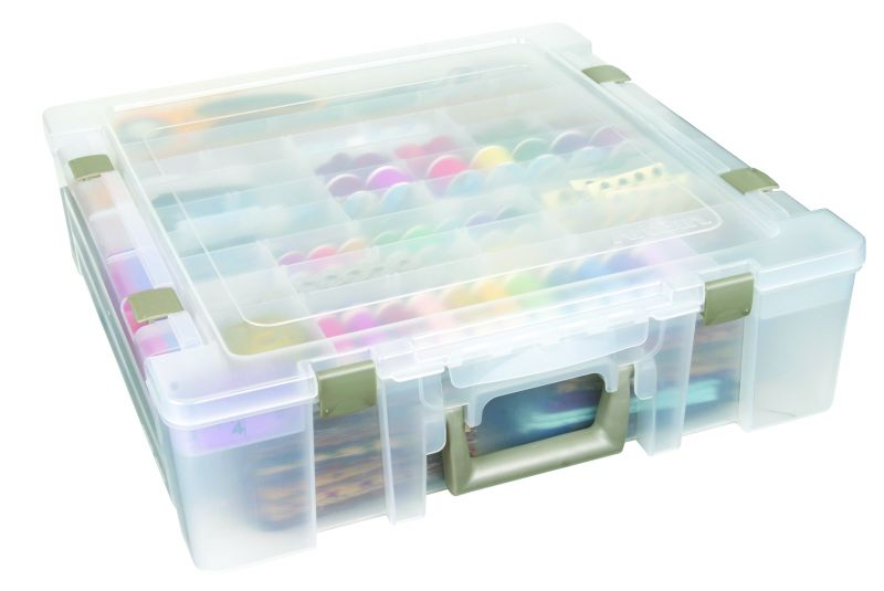 Super Satchel Deluxe Divided Lid 1 Compartment Base 6981ab