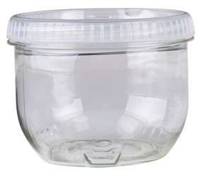 Twisterz Jar; Large/Tall, 6943AB twisters, twist, interlocking containers, interlocking, locking, clear, twist off cap, twisterz, twisterz jar, large tall, screw on lid, slime jar, 9 fl oz., stacking, 6943AB