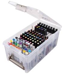 Marker Storage Satchel, 6934AB marker, marker storage, super satchel, satchel, prismacolor, kopic markers, pencils, color pencils, marker storage satchel,  super satchel series, copic, markers, organizer, box, container, art markers, pens, design markers, artbin, semi satchel, 6934AB