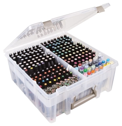 Marker Storage Tray, 6939AB marker storage tray, tray, markers, marker, replacement trays, semi satchel, copic,  pens, super satchel double deep, semi satchel, artbin, marker storage, box, container, 6939AB, best seller