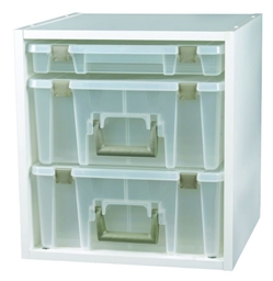 Super Satchel Cube, 6855SC super, super satchel, super satchels, satchels, satchel container, container, satchel storage, storage, super satchel cube, shelf, satchel organizer, craft, furniture, cube, square, white, artbin, 6855SC