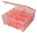 Super Satchel Double Deep with Removable Dividers-Coral, 6990AG - 6990AG