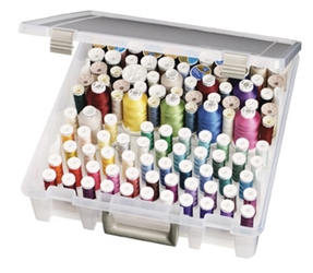 Super Satchel™ Thread Box, 9002AB super satchel, super satchel cube, super, satchel, thread box, sewing box, super satchel thread tray box, container, spools, sewing, quilting, thread satchel, super satchel series, 9002AB, best seller