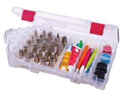 Solutions Cake Decorating  Storage Box, 6933AB cake decorating storage, cake tip storage, frosting tip storage, solutions cake decorating storage box, edible art, icing tips, wilton, decorating tips, cupcake, cookies, artbin, 6933AB