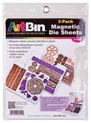 Magnetic Die Sheet Set, 6979AB magnetic, magnetic storage, magnetic die storage, die storage, Spellbinders, Sizzix, die sheets, Spellbinders storage, magnetic die storage case, metal dies, magnetic sheets, scrapbooking, cutting dies, best seller, papercrafting, 6979AB