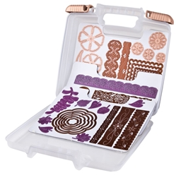 Magnetic Die Storage Case, 6978AB magnetic, magnet, Spellbinders, Sizzix, die storage, die sheets, Spellbinders storage, magnetic die storage case, metal dies, magnetic sheets, scrapbooking, cutting dies, best seller, papercrafting, 6978AB